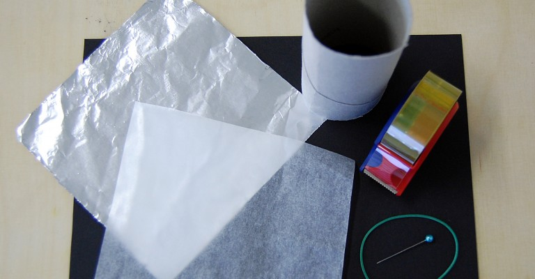 Bastelmaterial Camera Oscura