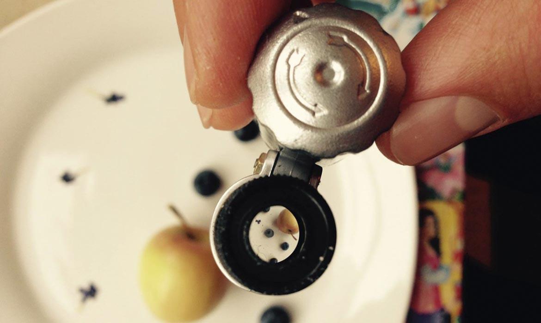 Iris_5-Jahre_Stillleben-mit-Apfel-und-Heidelbeeren_2015